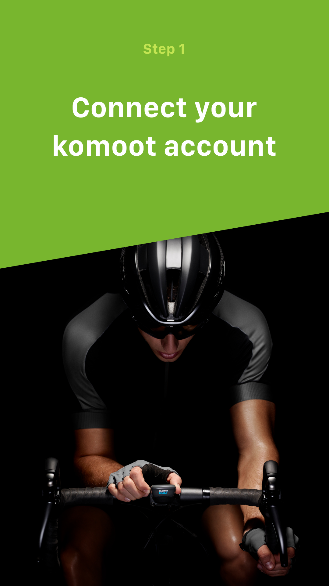 Komoot for Wahoo ELEMNT & ELEMNT BOLT